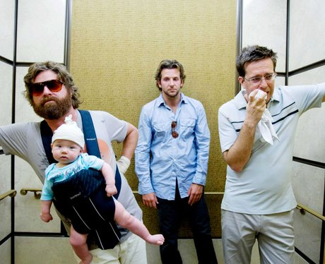 Ed Helms and Bradley Cooper in The Hangover.
