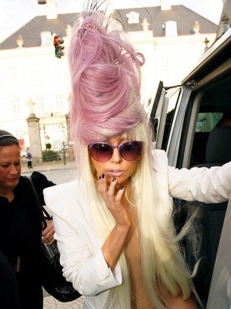 Lady Gaga leaving the Phoenix hotel