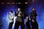 Image 3: The Wanted performing at the Jingle Bell Ball