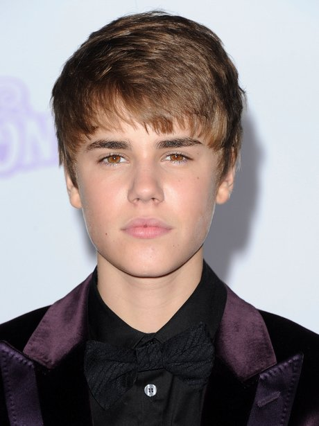 moving on from the long fringe justin debuted a new
