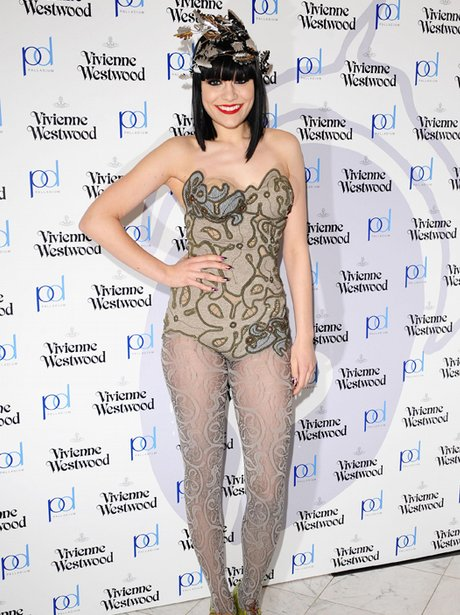 Jessie J on the red carpet