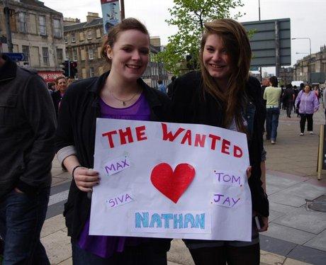 The Wanted Live at Edinburgh Playhouse
