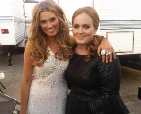 Delta Goodrem and Adele