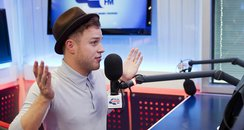 Olly Murs webchat on Capitalfm