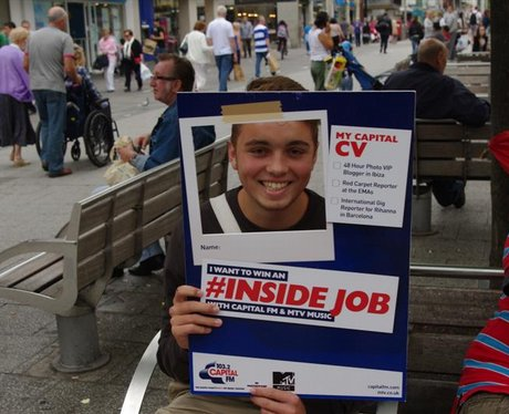 #Inside Job competition in Southampton