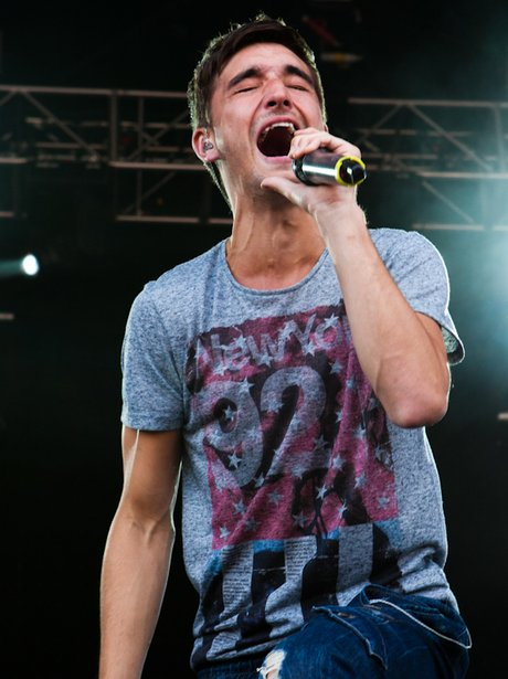 The Wanted's Tom LIVE at Ultrasound Fest 2011