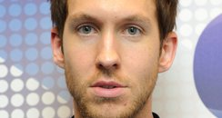 Calvin Harris Backstage at the 2011 Jingle Bell Ba