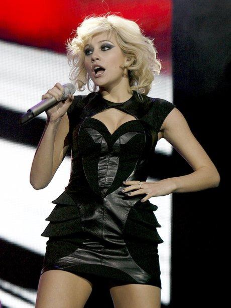 Pixie Lott live at the 2011 Jingle Bell Ball