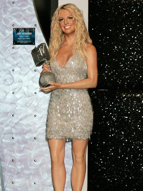 Britney waxwork