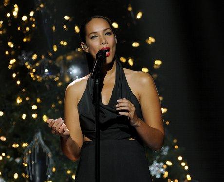 Leona Lewis on stage