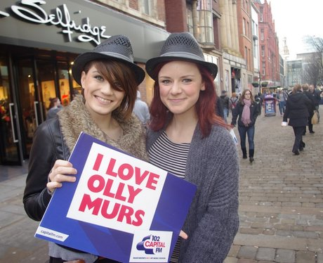 Olly Murs is coming to Manchester