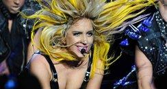 Lady Gaga on tour