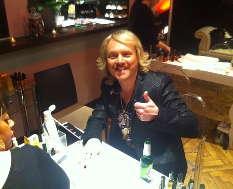 Backstage At The Brit Awards 2012