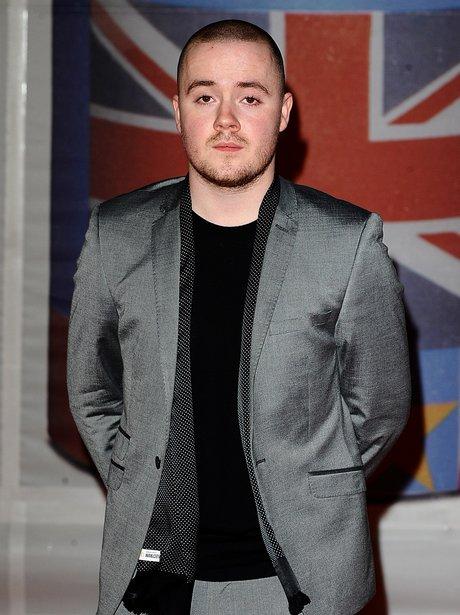 Maverick Sabre arrives at the BRIT Awards 2012