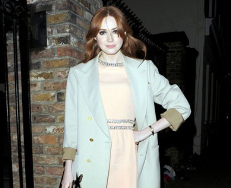 karen gillan 2012 scottish fashion icon of the year