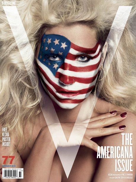Kesha V Magzine
