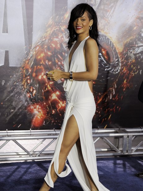 Rihanna at premier of Battleship