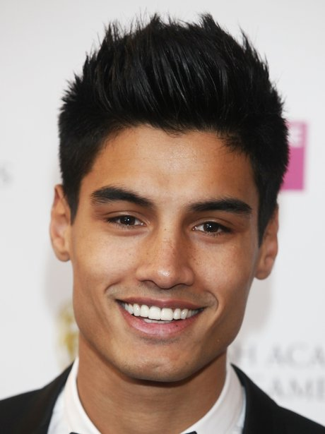 The Wanted star Siva Kaneswaran at a promo event