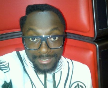 Will.i.am in his chair on The Voice UK