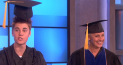 Justin Bieber graduates