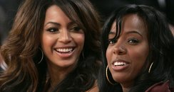 Beyonce and Kelly Rowland.