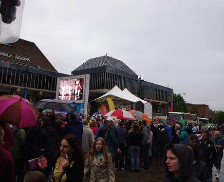 Olympic Torch Relay - Derby Market Place