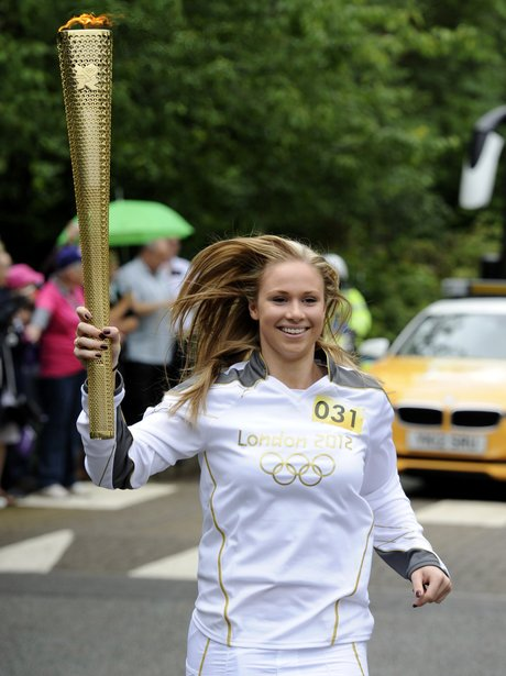 olympic torch relay leicester to peterborough