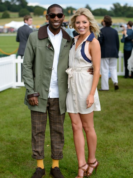 Mollie King and Tinie Tempah Polo