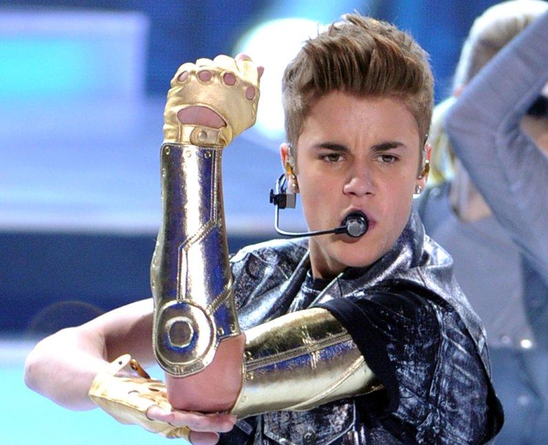 Justin Bieber Teen Choice Awards 2012