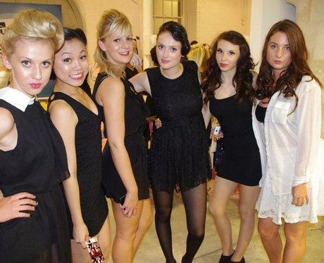 black dress party