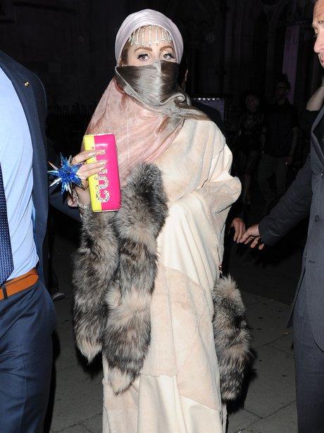 Lady Gaga London Fashion Week 2012