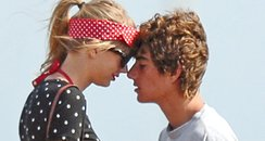 Taylor Swift and Conor Kennedy together