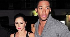 Cheryl Cole and Tre Holloway out for dinner
