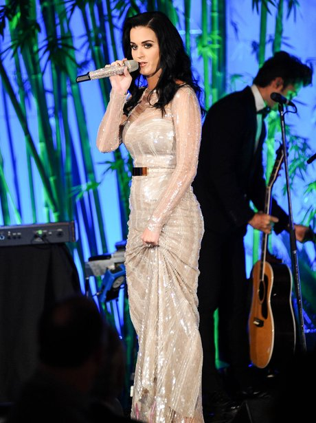 Katy Perry performs live at Hammer Gala.