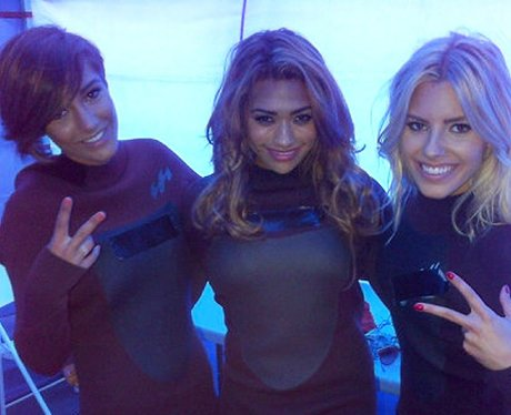 The Saturdays in wetsuits