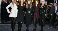 Girls Aloud promote Harrods