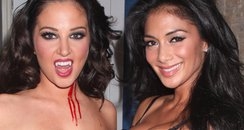 Tulisa and Nicole Scherzinger Halloween