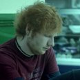 ed sheeran in his give me love music video