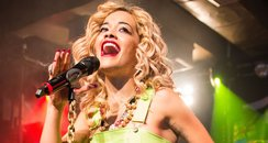 Rita Ora performs in London