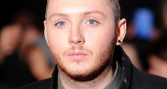James Arthur on the red carpet