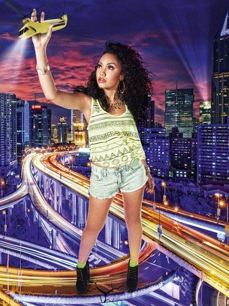 Leigh-Anne in We Love Pop Magazine