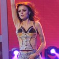 Cher Lloyd performs on X Factor