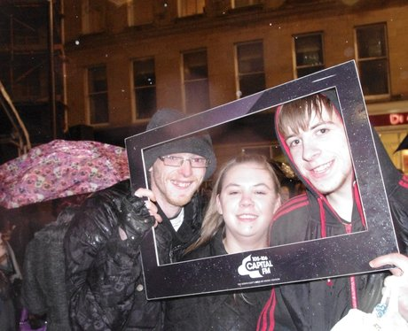 Newcastle Chirstmas Light Switch On