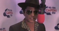 Bruno Mars at the Jingle Bell Ball