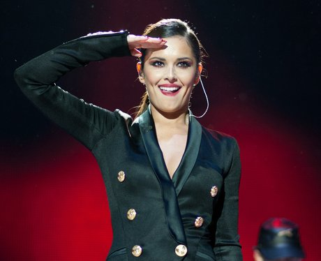 Cheryl Cole at the Jingle Bell Ball 2012