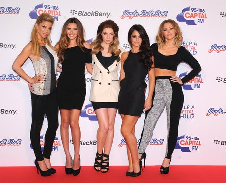 Girls Aloud At The Jingle Bell Ball 2012