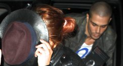 Max George and Lindsey Lohan in New York