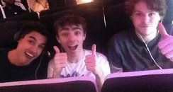 The Wanted flying to LA from Twitter