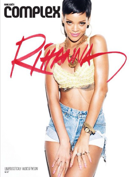 Rihanna Music of The Sun Complex Magazine 2013 cover
