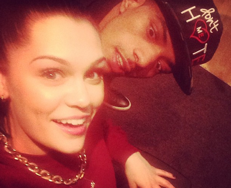 Jessie J with Fazer in the studio